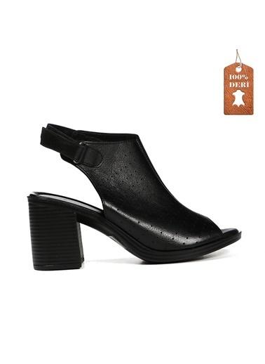 Hammer Jack Kadın Terlik / Sandalet 542 1629-Z Siyah